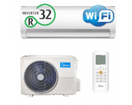 Midea PRIME  Inverter 9000 Btu  - Freon ECO R32 / WiFi
